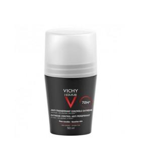 VICHY DESODORANTE HOMME BOLA ANTITRANSPIRANTE Desodorantes y Higiene Corporal - Vichy