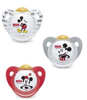 NUK CHUPETE MICKEY MOUSE LATEX 6-18M-Accesorios del bebé y Chupetes