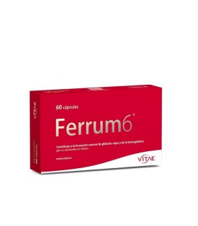 VITAE FERRUM 6 60 CAPSULAS Inicio y  - VITAE N NUTRITION