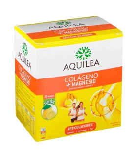 AQUILEA ARTICULACIONES COLAGENO CON MAGNESIO 30 SOBRES Colagenos y magnesios y Salud Muscular - AQUILEA