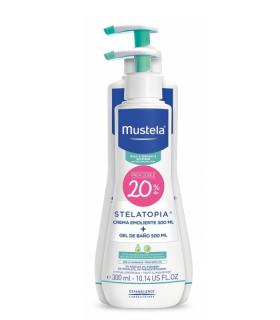 MUSTELA STELATOPIA CREMA + GEL PACK Higiene piel atópica y Higiene bebé - MUSTELA