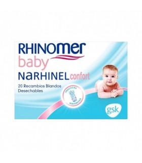 RHINOMER CONFORT RECAMBIOS 20U Higiene nasal y Higiene bebé - RHINOMER