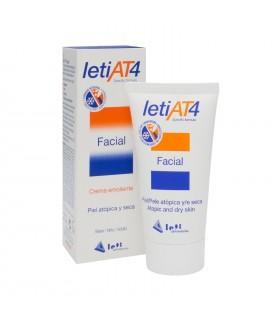 LETI AT4 FACIAL 50 ML Higiene piel atópica y Higiene bebé - LETI