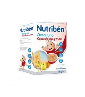 NUTRIBEN DESAYUNO COPOS DE TRIGO CON FRUTAS 750 Papillas y galletas y Alimentacion del bebe - NUTRIBEN