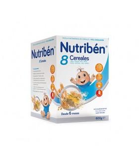 NUTRIBEN 8 CEREALES 600 GRS. Promo Nutriben y Inicio - NUTRIBEN