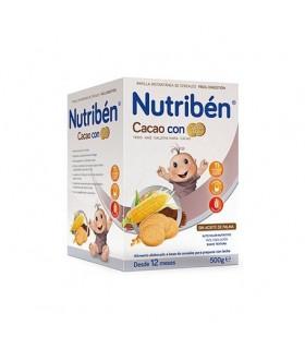 NUTRIBEN CACAO CON GALLETAS MARIA 500 G Bebé y mamá y Inicio - NUTRIBEN