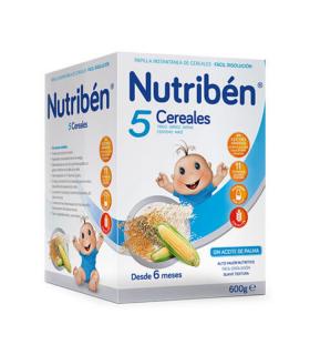 NUTRIBEN 5 CEREALES 600 GRS Inicio y  - NUTRIBEN