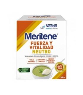 MERITENE NEUTRO AL PLATO 7 SOBRES Energía y Vitaminas - NESTLE HEALTH SCIENCE