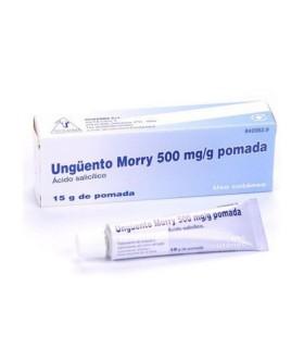 UNGUENTO MORRY 500 MG-G POMADA 15 G