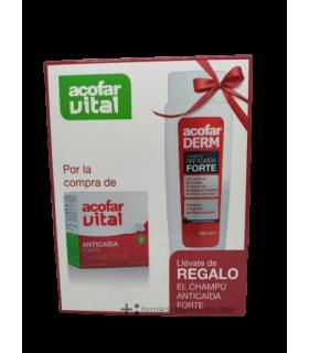 ACOFAR PACK ANTICAIDA 60 COMPRIMIDOS + CHAMPU Higiene y Inicio - ACOFARMA