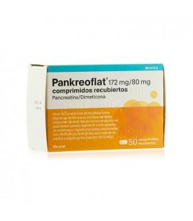 PANKREOFLAT 50 GRAGEAS Gases Y Digestión y Trastornos Digestivos - FAES FARMA