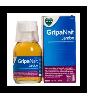 VICKS GRIPANAIT JARABE 120 ML Tos y mucosidad y Resfriado, tos y Gripe - VICKS