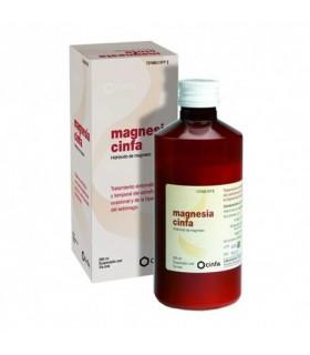 MAGNESIA CINFA 200 MG-ML SUSPENSION ORAL 300 G Laxantes y Trastornos Digestivos - CINFA