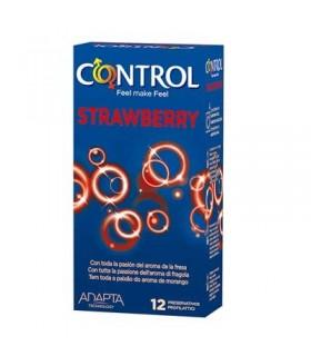 CONTROL STRAWBERRY PRESERVATIVOS 12 U Salud y Inicio - CONTROL