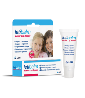 LETIBALM JUNIOR LIP REPAIR 10ML Hidratacion y Cuidado labial - LETI