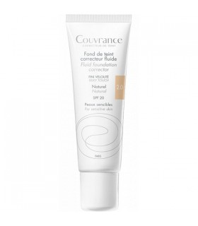 AVENE COUVRANCE MAQUILLAJE FLUIDO COLOR NATURAL