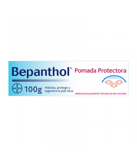 BEPANTHOL TATUAJES PROTECTORA POMADA 100 G Tatuajes y Salud Piel - BEPHANTOL