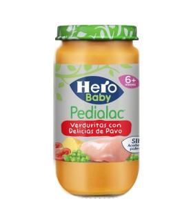 HERO PEDIALAC VERDURITAS TIERNAS CON PAVO