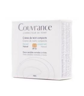 AVENE COUVRANCE CREMA COMPACTA OIL FREE NATURAL SPF30 2.0 Oil Free y Maquillaje - Avene