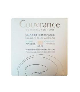 AVENE COUVRANCE CREMA COMPACTA OIL FREE PORCELANA SPF30 1.0 Oil Free y Maquillaje - Avene