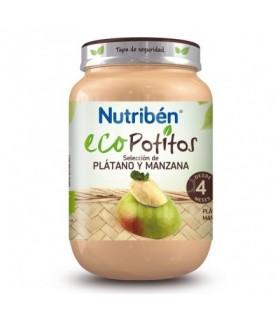 NUTRIBEN ECO SELECCION PLATANO Y MANZANA POTITO