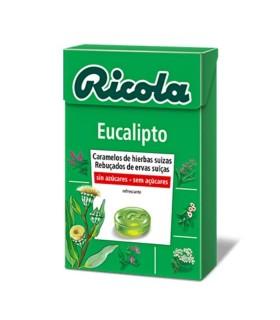 RICOLA CARAMELO EUCALIPTO 50 G Dietetica y Inicio - RICOLA