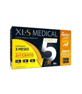 XLS MEDICAL FORTE 5 TRATAMIENTO 2 MESES + 1 GRATIS