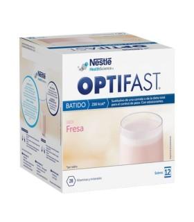 OPTIFAST BATIDO FRESA 12 SOBRES Dieta y Adelgazamiento