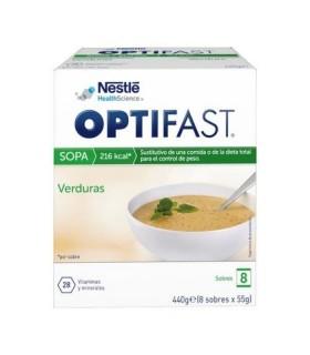 OPTIFAST SOPA VERDURA 8 SOBRES Dieta y Adelgazamiento
