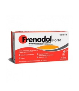 FRENADOL FORTE 10 SOBRES GRANULADO SOLUCION ORAL