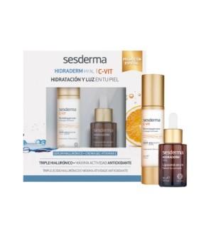 SESDERMA PACK CREMA-GEL VITAMINA C+ SERUM HIDRADERM