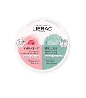 LIERAC DUO MASCARILLA HYDRAGENIST + SEBOLOGIE 2X6 ML Inicio y  -