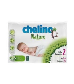 CHELINO NATURE PAÑAL INFANTIL TALLA 2 28 UNIDADES Inicio y  -