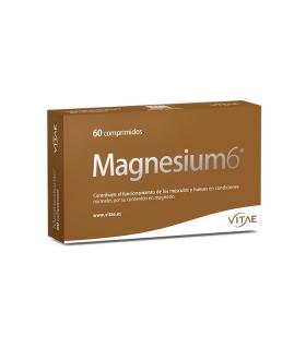 VITAE MAGNESIUM 6 60 COMPRIMIDOS Dolor y Salud Muscular - VITAE N NUTRITION