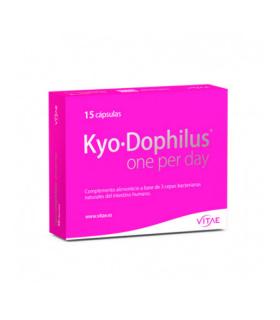 VITAE KYO-DOPHILUS ONE PER DAY 15 CAPS Flora intestinal y Cuidado Digestivo