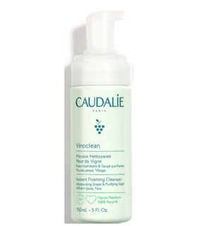 CAUDALIE VINOCLEAN ESPUMA LIMPIADORA 150ML Limpieza Facial y Cosmética facial - CAUDALIE