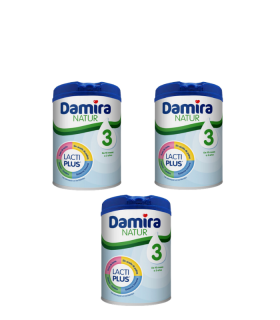DAMIRA NATUR 3 800 G PACK 3 UNIDADES