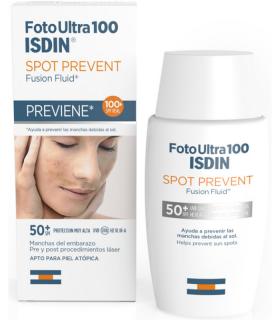ISDIN FOTO ULTRA 100 SPOT PREVENT SPF50+ 50ML Cosmética facial y Cosmética - ISDIN