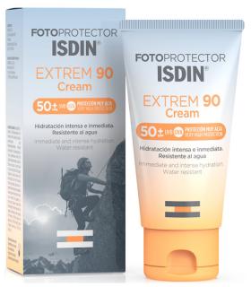 ISDIN FOTOPROTECTOR EXTREM 90 CREMA SPF50+ 50ML Cosmética y Inicio - ISDIN