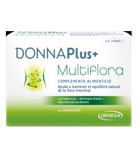 DONNAPLUS+ MULTIFLORA 30 COM Flora intestinal y Cuidado Digestivo