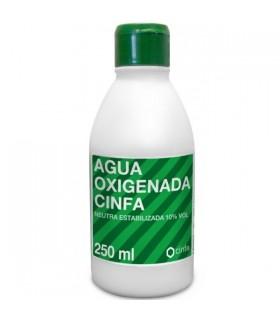 CINFA AGUA OXIGENADA 10 VOL 250 ML Heridas y Botiquin