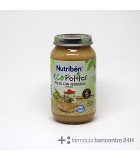 NUTRIBEN POTITO ECO POLLO CON VERDURAS SELECTAS Potitos y Alimentacion del bebe
