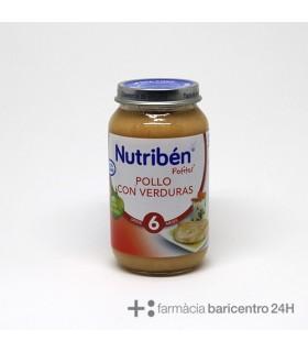 NUTRIBEN POTITO POLLO VERDURAS 250G Potitos y Alimentacion del bebe
