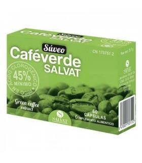 CAFEVERDE SUVEO SALVAT 60 CAPS Quemagrasas y Adelgazamiento