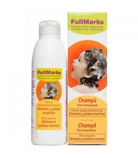 FULLMARKS CHAMPU POST- TRATAMIENTO PEDICULICIDA Antipiojos y Higiene Capilar