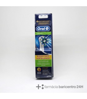 ORAL-B RECAMBIO CROSS ACTION 5 UNIDADES Cepillos y Higiene Bucal