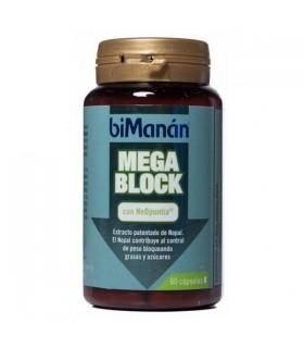 BIMANAN MEGA BLOCK 60 CAPS Inhibidores absorcion y Adelgazamiento
