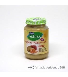 PEDIALAC MERIENDA PURE MANZANA MANDARINA GALLETA Zumos e infusiones y Alimentacion del bebe