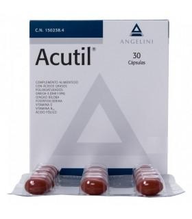 ACUTIL 30 CAPS Vista y Complen Alimentarios y vitamin
