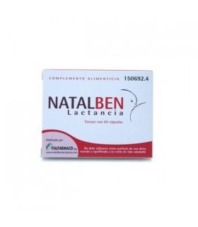 NATALBEN LACTANCIA 60 CAPS Complementos alimenticios y Embarazo y post parto
